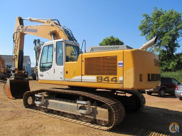 2008 LIEBHERR R944CHDSL Crawler LIEBHERR R944CHDSL American State Equipment 20259 on CraneNetworkcom